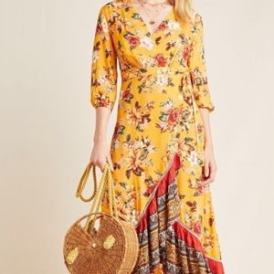 Farm Rio for Anthropologie Soigne Maxi Dress.